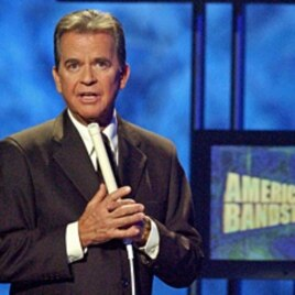 Dick Clark, host of the American Bandstand television show (2002 file photo)