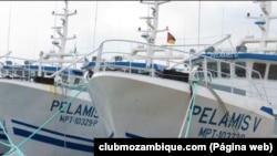 Embarcações da Ematum. Moçambique