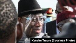 L'ancien président du Nigeria Goodluck Jonathan est le médiateur désigné par la CEDEAO à Bamako. (Photo Kassim Traoré)