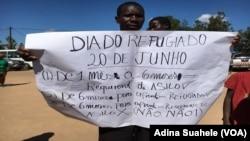 Refugiados em Moçambique querem reconhecimento, Nampula