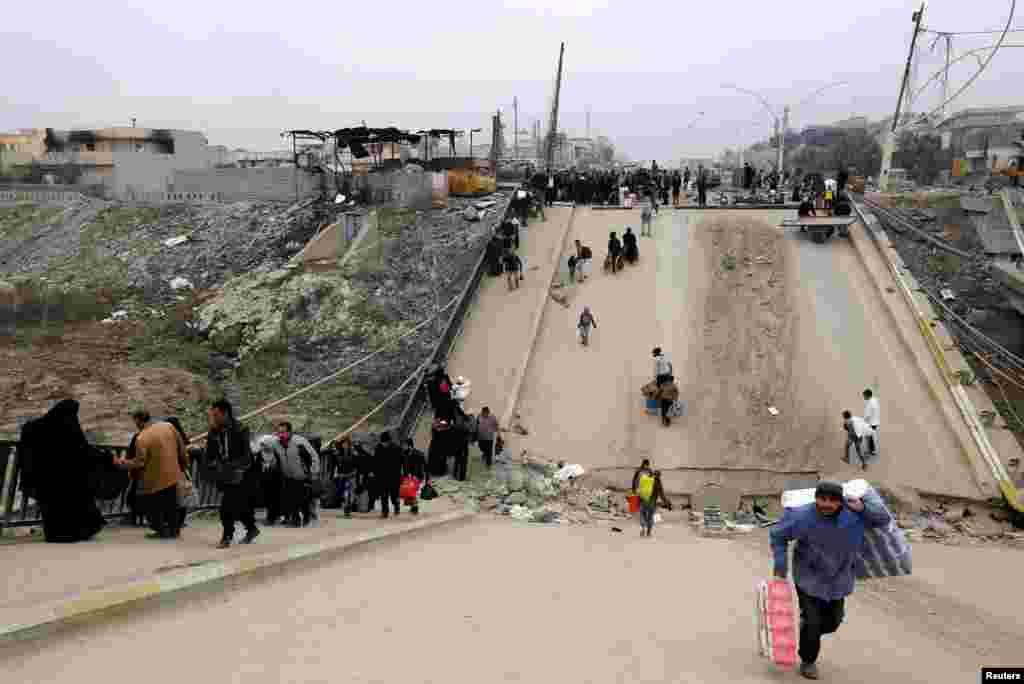 İraq - Mosul qaçqınları