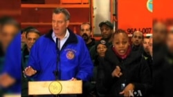 Snowstorm First Big Test for NYC's New Mayor
