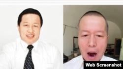 人权律师高智晟牙齿脱落(推特图片)