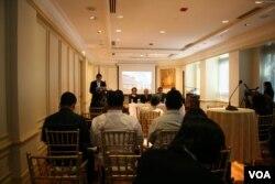菲律宾驻美大使馆记者会