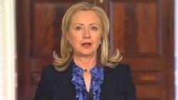 克林顿宣布美国与缅甸友好相处