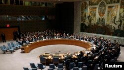 FILE - United Nations Security Council.