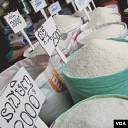 Beras impor termasuk salah satu komoditas yang mendapat bea masuk nol persen.