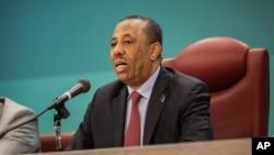 利比亞總理薩尼(資料圖片)