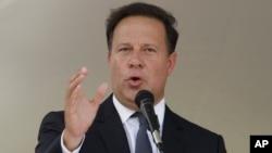 Presiden Panama Juan Carlos Varela akan menerapkan transparansi di negaranya pasca skandal (foto: dok).