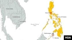 Peta wilayah Filipina (Foto: dok).