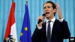 Sebastian Kurz, pemimpin partai konservatif Austria yang baru berusia 31 tahun.