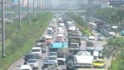 曼谷面对大洪水当局下令疏散