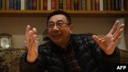 """前《中國青年報》""""冰點""""欄目主編李大同接受采訪(資料圖片)。"""