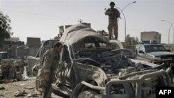 На месте взрыва. Кандагар. Афганистан. 27 декабря 2010 года