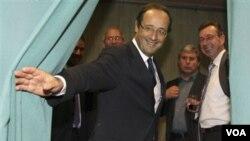 François Hollande, memenangkan nominasi calon Presiden dari Partai Sosialis Perancis (16/10).