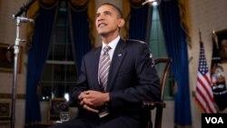 Presiden Barack Obama berbicara di sela-sela KTT NATO di Portugal.