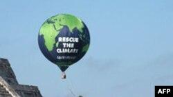 В день відкриття конференції ООН захисники довкілля провели демонстрації біля піраміди Майя
