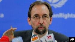 Người đứng đầu Cao ủy Nhân Quyền Liên Hiệp Quốc Zeid Ra'ad Al Hussein.