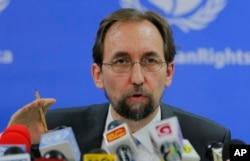 聯合國人權事務高級專員扎伊德