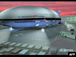 Kaliforniyada nəhəng uçan gəmi inşa edilir (video)