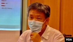 香港理工大學應用社會科學系講師鄒崇銘(美國之音湯惠芸攝)