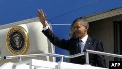 باراک اوباما برای شرکت در همایش انرژی اتمی عازم کره جنوبی شد