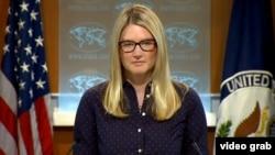美國國務院副發言人 瑪麗.哈夫。(資料圖片)