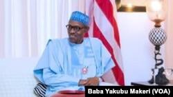 Le président nigérian Muhammadu Buhari, 14 décembre 2016.