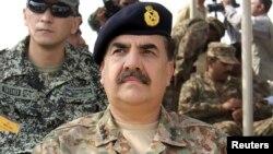 پاکستانی فوج کے سربراہ جنرل راحیل شریف ( فائل فوٹو )
