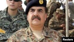 Letnan Jendral Raheel Sharif (foto) resmi menjabat sebagai panglima militer Pakistan yang baru pada hari Jumat 29/11/2013.