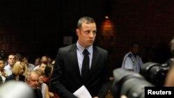 Oscar Pistorius, Pretoria Magistrates mahkemesinde, 20 Şubat 2013.