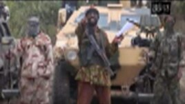 FILE - Abubakar Shekau speaks in a video sent to AP on May 5, 2014.