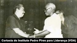 Pedro Pires e Aristides Pereira