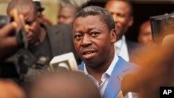 Le président du Togo, Faure Gnassingbe, le 25 avril 2015. (AP Photo/Erick Kaglan)