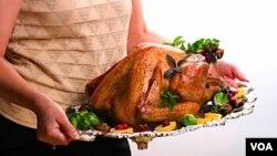 El pavo es la pieza central de la comida del Día de Acción de Gracias.