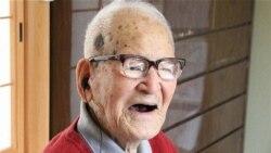 سالمندترین مرد جهان ۱۱۴ سالگی خود را جشن گرفت
