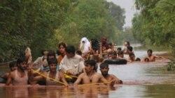 شمار کشته شدگان سیل در پاکستان از ۸۰۰ نفر فراتر می رود