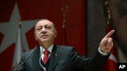 တူရကီ သမၼတ Recep Tayyip Erdogan (NOV, 2017)