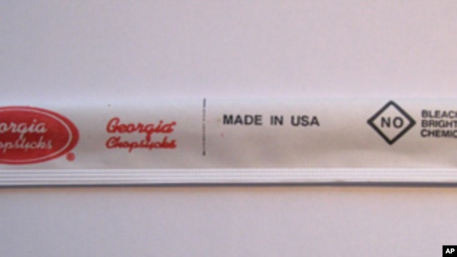 Georgia Chopsticks, which turns out two million pairs each day, expects to ramp up production to 10 million by the end of the year.