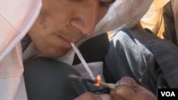 kandahar drug addict