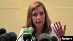 Bà Josefina Vidal, trưởng ngoại giao của Cuba về các vấn đề với Hoa Kỳ, hoan nghênh 'quyết định của Tổng thống Obama bỏ Cuba ra khỏi danh sách các nước tài trợ khủng bố