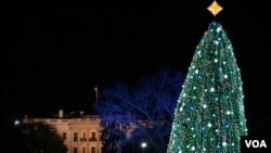 Este año habrá 17.000 entradas para asistir al encendido del Árbol de Navidad en la Casa Blanca.