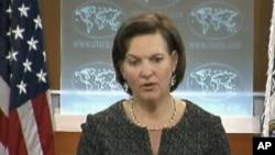 美国国务院发言人维多利亚•纽兰