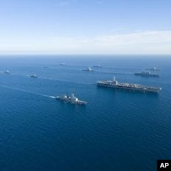 S. Korea - US combined alliance maritime and air readiness exercise 'Invincible Spirit'