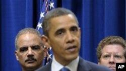 美国总统奥巴马2月9日在白宫讨论美经济议题的资料照片