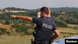 Frontex police in Albania