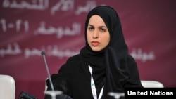 셰이카 알리아 카타르 유엔 주재 카타르대사.