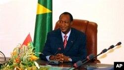 Le président burkinabè Blaise Compaoré (archives)