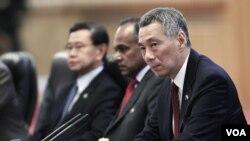 Perdana Menteri Singapura Lee Hsien Loong mengatakan semua anggota parlemen harus menjunjung tinggi standar perilaku tertinggi. (Foto: Dok)