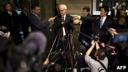 Specijalni američki izaslanik za Severnu Koreju Stiven Bosvort obraća se medijima u Pekingu